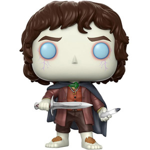 Frodo Baggins (Chase Edition): Funko POP! Movies x Lord of the Rings Vinyl Figure