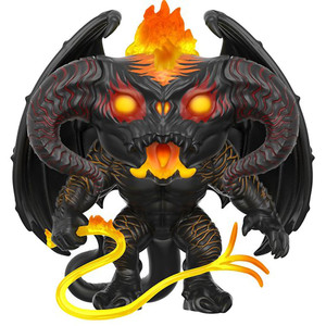 """Balrog: ~6"""" Funko Deluxe POP! Movies x Lord of the Rings Vinyl Figure"""