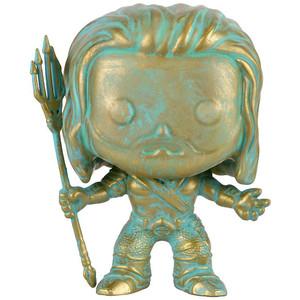 Aquaman [Patina] (EE Exclusive): Funko POP! Heroes x Batman v Superman - 'Dawn of Justice' Vinyl Figure [#087]