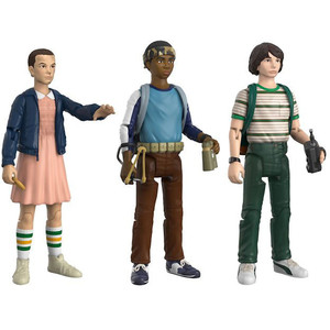 "Eleven, Lucas, Mike: ~3.75"" Funko x Stranger Things Action Figure Set"
