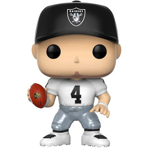 Derek Carr [Raiders Away]: Funko POP! Football x NFL Vinyl Figure [#047]