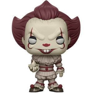 Pennywise [w/ Boat] (Chase Edition): Funko POP! Movies x It Vinyl Figure [#472]