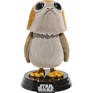 Porg [Flocked] (Hot Topic Exclusive): Funko POP! x Star Wars - The Last Jedi Vinyl Figure