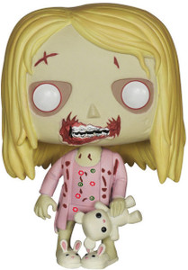 Teddy Bear Girl: Funko POP! x The Walking Dead Vinyl Figure
