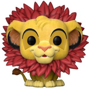 Simba - Flocked (EE Exclusive): Funko POP! Disney x Lion King Vinyl Figure [#302]