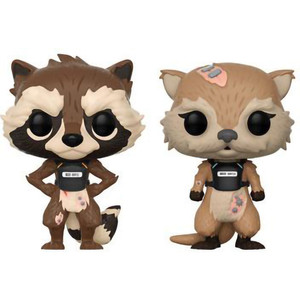 Rocket & Lyla: Funko POP! Games x Guardians of the Galaxy - The Telltale Vinyl Figure