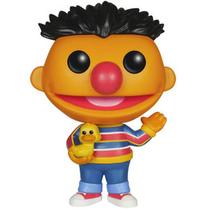Ernie: Funko POP! x Sesame Street Vinyl Figure
