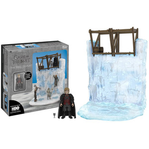 Tyrion Lannister & The Wall: Funko Action Figure x Game of Thrones Playset