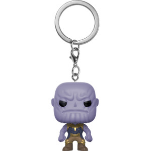 Thanos: Funko Pocket POP! x Avengers - Infinity War Mini-Figural Keychain [27301]