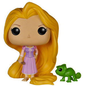 Rapunzel & Pascal: Funko POP! x Disney Vinyl Figure