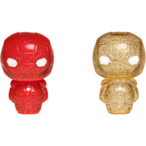 Iron Man [Red & Gold]: Funko Hikari XS x Marvel Universe Vinyl Figure [23078]