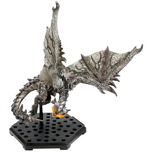 "Silver Rathalos [Enraged]: ~4.1"" Monster Hunter x Capcom Figure Builder Standard Model Plus ~Rage Mode Ver. Kai~ Mini Figure (08000A)"