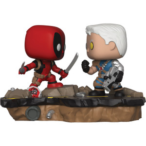 Deadpool vs Cable: Funko POP! Comic Moments x Deadpool Vinyl Figure [30972]