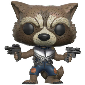Rocket Raccoon (GameStop Exclusive): Funko POP! Marvel x Guardians of the Galaxy 2 Vinyl Figure [#210 / 12788]