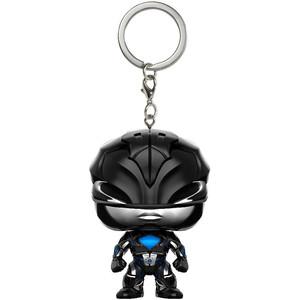 Black Ranger: Funko Pocket POP! x Power Rangers Mini-Figural Keychain