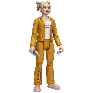 Harley Quinn [Inmate]: Funko Action Figure x Suicide Squad Mini Action Figure