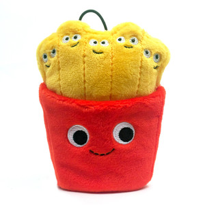 "The Fries: ~4"" Kidrobot Yummy World Cute Cravings Mini Plush"