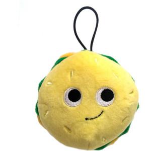 "Bunford Burger: ~4"" Kidrobot Yummy World Cute Cravings Mini Plush"