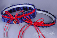 Cleveland Indians Wedding Garter Set