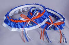 Boise State University Broncos Wedding Garter Set