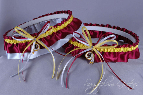 Washington Redskins Wedding Garter Set