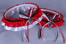 Atlanta Falcons Wedding Garter Set
