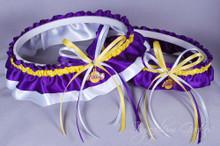 Los Angeles Lakers Wedding Garter Set