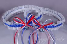 University of Kansas Jayhawks Lace Wedding Garter Set