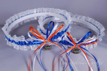 University of Florida Gators Lace Wedding Garter Set