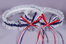 University of Arizona Wildcats Lace Wedding Garter Set