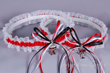 Texas Tech University Red Raiders Lace Wedding Garter Set