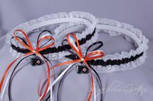 Philadelphia Flyers Lace Wedding Garter Set