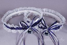 Penn State University Nittany Lions Lace Wedding Garter Set