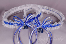 Duke University Blue Devils Lace Wedding Garter Set