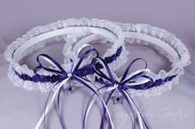 Dallas Cowboys Lace Wedding Garter Set