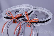 Cincinnati Bengals Lace Wedding Garter Set