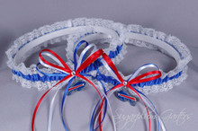 Buffalo Bills Lace Wedding Garter Set