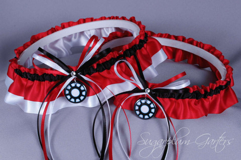 Iron Man Wedding Garter Set