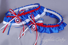 Captain America Wedding Garter Set