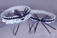 Penn State University Nittany Lions Wedding Garter Set
