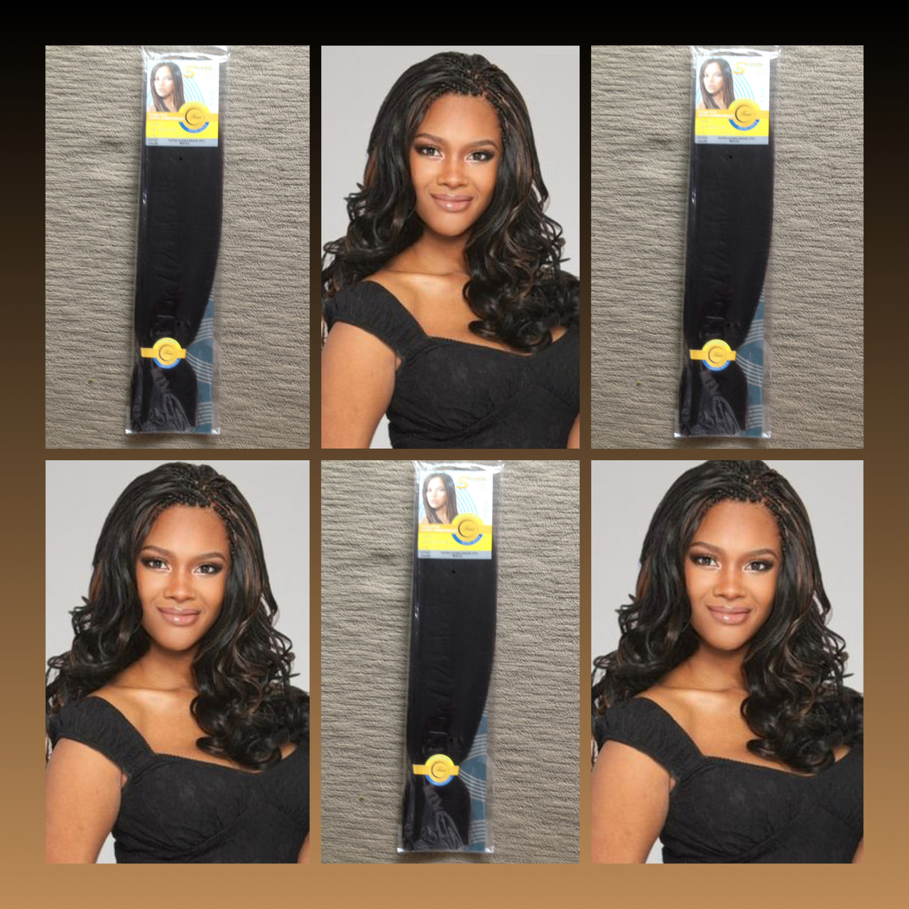 Femi Synthetic Super Jumbo Braid Hair Extension 433 House Of Braids