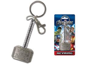 Thor Hammer (Mjolnir) Pewter Keyring