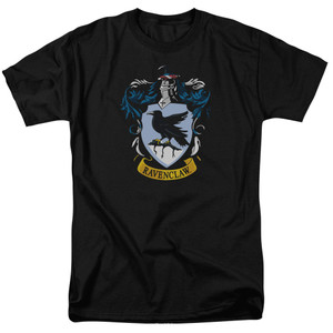 Crest: Ravenclaw Color on Black