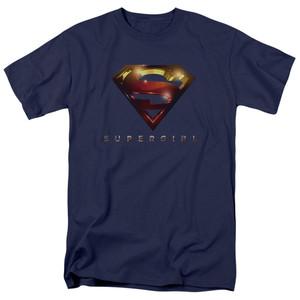 Supergirl Symbol on Navy