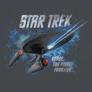 1701 Enterprise Flight Gray