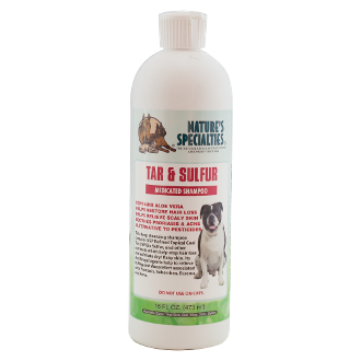 Nature S Specialties Tar And Sulfur Shampoo Treats Dog