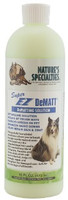 Nature's Specialties Super EZ DeMatt Conditioner penetrates deep into your dog's coat to break up even the most difficult mats.