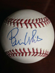 SOLD 956 Bill White Autographed ROMLB Baseball