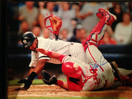 Mike Lieberthal Autographed Phillies 16 x 20  Photo 5