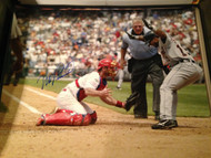 Mike Lieberthal Autographed Phillies 16 x 20  Photo 6